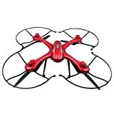 Hunpta Mjx x102h Quadrocopter mit Kamerahalterung für Gopro/Sj Kamera Drohne aktualisiert x101 (Rot)