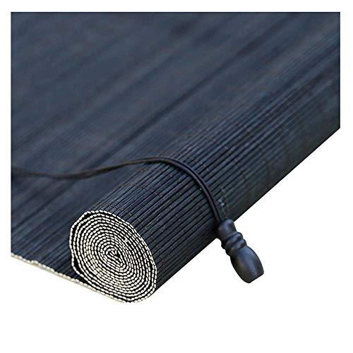 Shading Bambus-Bildschirm, Rollos Bambus Shades Outdoor Pavillon Sonnenschirm Atmungsaktiv Retro, 3 Farben, Mehrere Größen Erhältlich, MTX Ltd, c, 50X180cm -