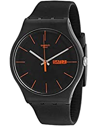 c67c99b6105 Swatch Dark Rebel Watch SUOB704