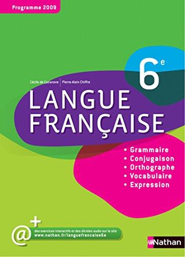 Langue française 6e