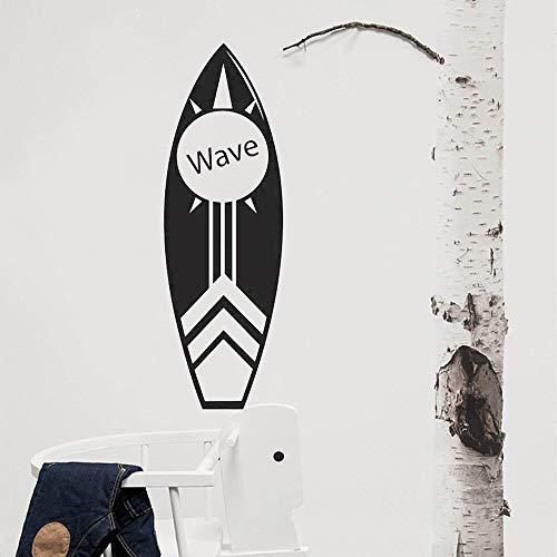 Zoom IMG-1 surfboard wall art sticker libro