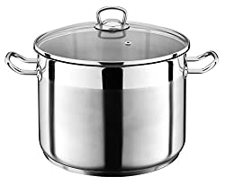 The Kitchenette Stainless Steel Stock Pot XXL, Stainless steel, 30 cm/20 L
