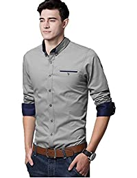 IndoPrimo Men's Regular Fit Shirt