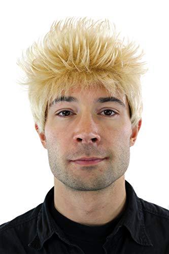 - Blonde Herren Perücke