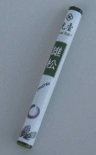 OMATSU - Duftender Kiefernhain - Marke: HikaliKoh - Rolle mit ca.28 Räucherstäbchen 13cm