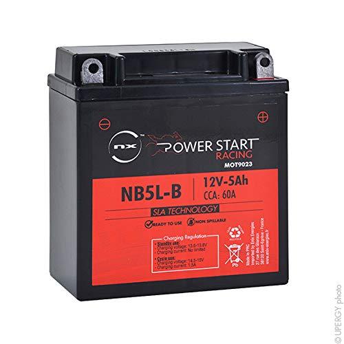 NX - Batteria moto AGM YB5L-B - 12N5-3B 12V 5Ah