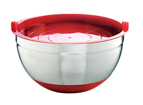 mastrad Bol en Acier Inoxydable antidérapant Rouge