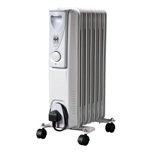 Daewoo Fine Elements Oil Filled Radiator, 1500 Watt