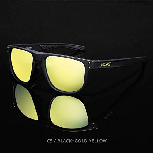 Getwli High Definition TR90 Sonnenbrille polarisierte Sport Sonnenbrillen MännerObjektiv Athletes' Choice mit Fall
