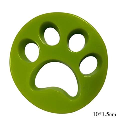 SSXCO Haustier Fell Fussel Katze Hund Haarfänger Wäsche Reinigung Mesh Beutel Waschmaschine Filter Filterung Entfernung Waschmaschine klebrig Trockner Kugel 4, grün
