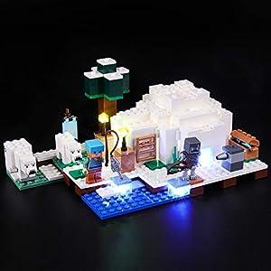 BRIKSMAX Kit di Illuminazione a LED per Lego l'Igloo Polare,Compatibile con Il Modello Lego 21142 Mattoncini da… 0716852280391 LEGO