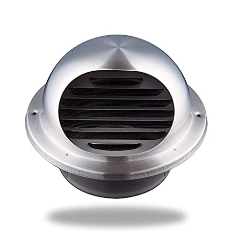 Hon&Guan Stainless Steel Round Bull Nosed External Extractor Wall Vent