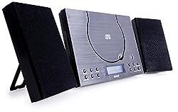 Denver MC-5010 Musik-Center (CD-R/RW, AUX-In, Wandhalterung, Weckerradio), Schwarz