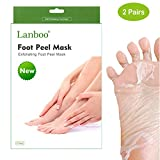 [UPDATE] 2 Pairs Lanboo Exfoliating Foot Peeling Mask Peel Booties for Callus Dead