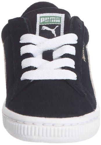 Puma Suede Kids, Baskets mode mixte enfant Noir (1)