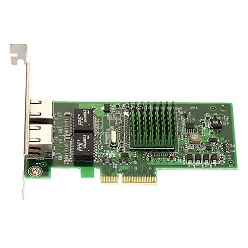 Anantek BCM5709 Broadcom Dual Port PCI-E X4 Gigabit Ethernet Netzwerkkarte 2 RJ45 PCIe NIC 10/100/1000 Mbps T300-port