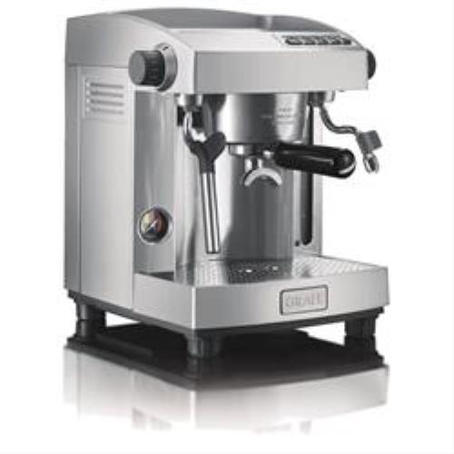 Graef ES 95 Independiente Manual Máquina espresso 3L 2tazas Acero inoxidable - Cafetera (Independiente, Máquina espresso, Acero inoxidable, Aluminio, Acero inoxidable, 3 L, 2 tazas)