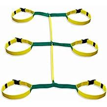 Walkodile Safety Web (6 bambini) – Imbragatura per gruppi di bambini, imbragatura bimbi per scuole (Cinghia Web Vita)