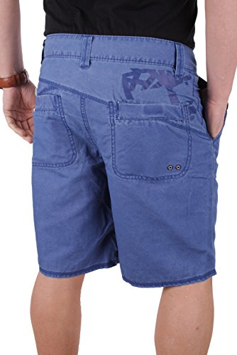 Timberland Herren Badeshort Multi Pocket Swim Short Blau