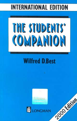 Students Companion International Edition. New Edition
