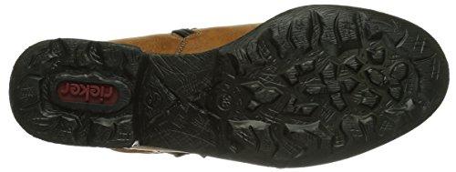 Rieker 71299-24, Stivali altezza metà polpaccio Donna Marrone (Braun (cayenne / 24))