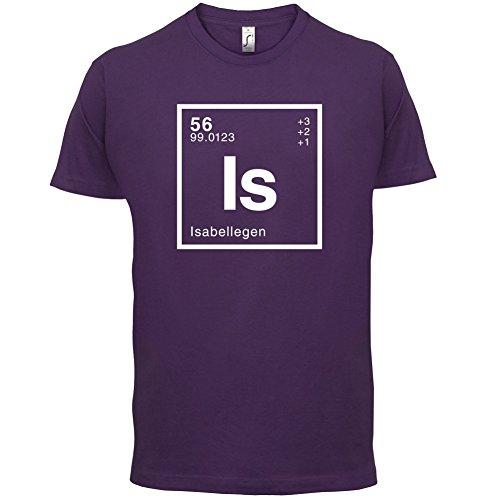 Isabelle Periodensystem - Herren T-Shirt - 13 Farben Lila