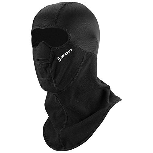 Scott Balaclava Motorrad/Fahrrad / Ski Gesichtsmaske schwarz: Größe: L