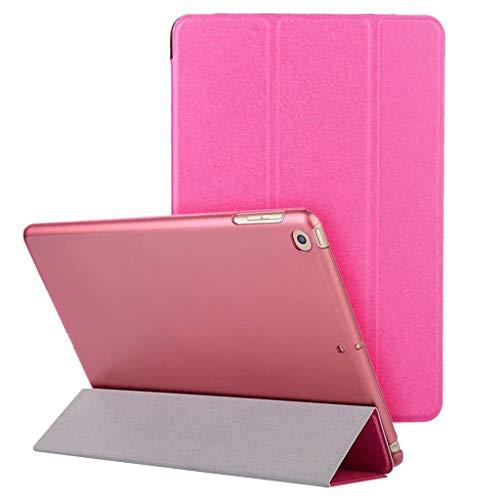 Preisvergleich Produktbild AmaSells Ipad / Tablette Schutzhülle,  iPad 6th Generation 2018 9.7 Zoll Intelligentes Stoßfest Schlanker Magnetischer Dreifaches Ledertasche Hüllen Abdeckung Klappdeckel (Rosa)