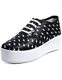 Red Rose Women's Stylish Casual Sneakers Shoes