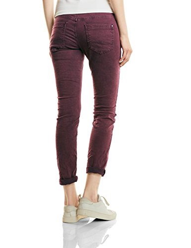 Street One Ltd Qr Rob, Col, Jean Coupe Ajustée Femme Rot (Master Wine Authentic Wash 11068)