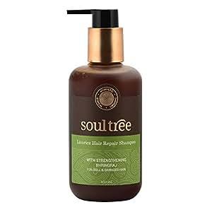 Soultree Licorice and Shikakai with Strenghening Bhringraj Hair Repair Shampoo, 250ml