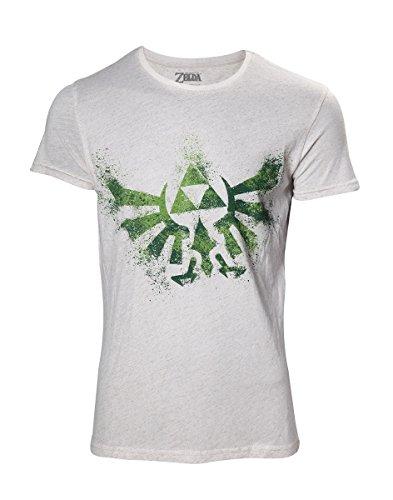 5c7ce81c5 The Legend of Zelda - Hyrule Nappy Men's T-Shirt - Maat S