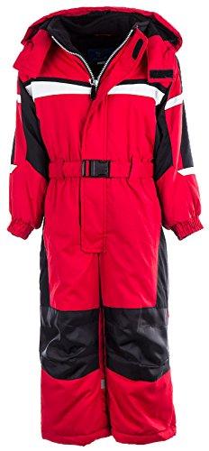 Kinder Skianzug LC1233 Rot 110 - 2