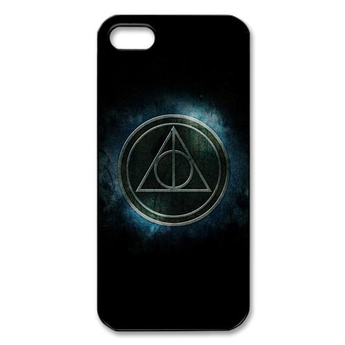 iPhone 5S per cellulare, serie Harry Potter cover case cover per Apple iPhone 5S, in Silicone Skin Custodia Shell per per iPhone 5 5S