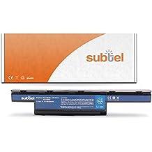 subtel® baterias portatiles para Acer Aspire / Aspire E1 / Aspire V3 / TravelMate / Travelmate P (6600mAh)