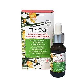 Timely – Sérum facial intensivo con vitaminas y aceites antienvejecimiento, 20 ml