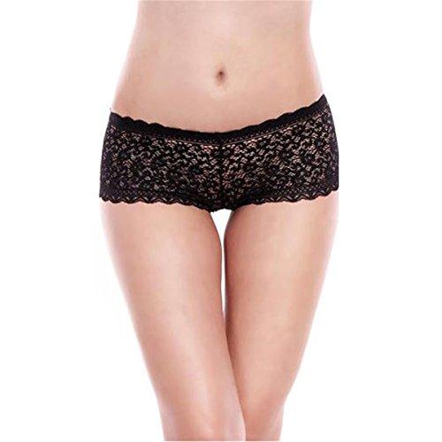 loveorama.de 2er Pack L&K-II Damen Hipster Panties raffinierte Schnürung MDU3410 Gr. 34/36