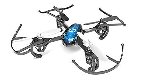 Holy Stone Mini Drohne, 2.4GHz Quadrocopter mit 6-Achsen-Gyrosensor R/C Serie 4 Kanals Hubschrauber HS170 die beste Wahl für Trainer des drohne