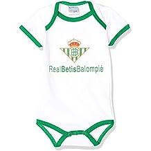 Real Betis Balompié Bodbet Body, Infantil, Multicolor (Blanco/Verde), ...