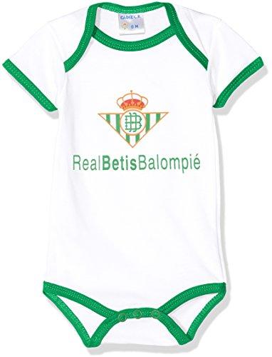 Real Betis Balompié Bodbet Body, Infantil, Multicolor (Blanco/Verde),