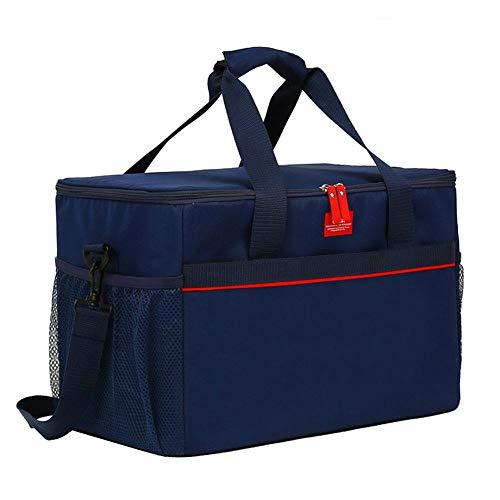 Funihut Thermotasche Isoliertasche tragbar wasserdicht Kühltasche Klein Große Kapazität 33L Lunch Taschen Picknicktasche Isoliertasche für Camping für Auto Geeignet -