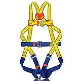 LF Klettersicherheitsgurt - Ganzkörpersicherheitsgurt - Baumklettern, Outdoor-Aktivitäten, Luftarbeiten - Hochwertiges, Hochfestes, Strapazierfähiges Polyestermaterial