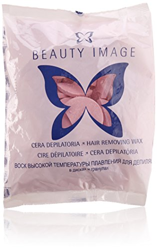Beauty Image 20006101, Cera Depilatoria, pastilla, Rosa,...