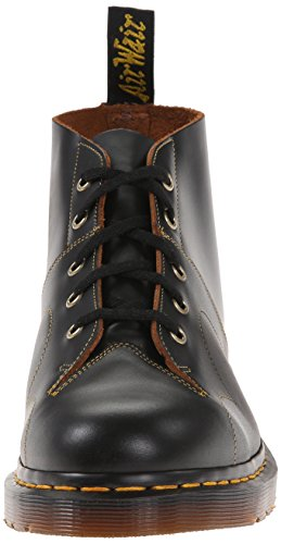 Dr.Martens Womens Church Leather Boots Noir