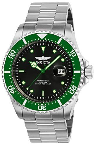 Invicta 25714 Pro Diver Reloj para Hombre acero inoxidable Cuarzo Esfera negro