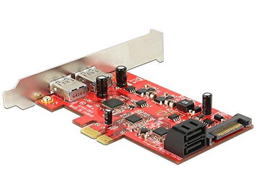 DeLOCK 89389interne SATA, USB 3.0Karte und Schnittstellen-Adapter–Karten und Adapter von Schnittstellen (PCIe, SATA, USB 3.0, 6Gbit/s, Windows 7Enterprise, Windows 7Enterprise X64, Windows 7Home Basic, Windows 7Home Basic...)