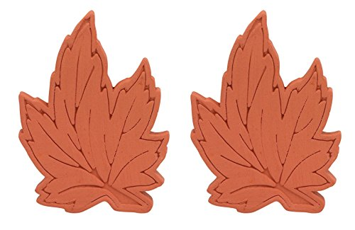 Brown Sugar Bear Original Brown Sugar Saver and Softener, Terracotta, Maple Leaf, Set of 2 by Brown Sugar Bear -