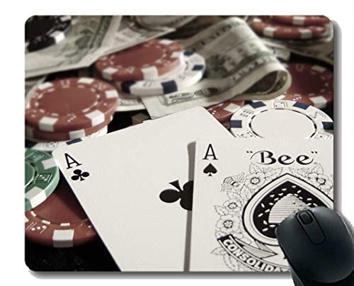 Preisvergleich Produktbild Poker spielen Mousepad