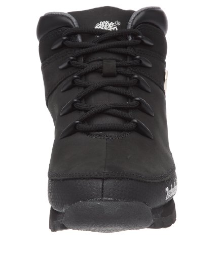 Timberland Euro Sprint, chaussures montantes homme Noir (Black Nubuck)