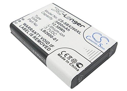 CS-SBX260XL Akku 3400mAh [4G Systems] XSBox GO+ ersetzt LB2600-01